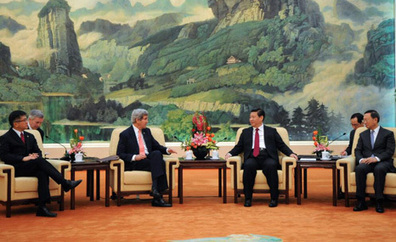 "President Xi tells John Kerry China ""will do more"" on climate 