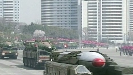 North Korean missile in upright firing position, official says | Government jacobboe | Scoop.it