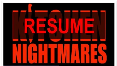 Resume Nightmares: Part One | Performance Project | Scoop.it
