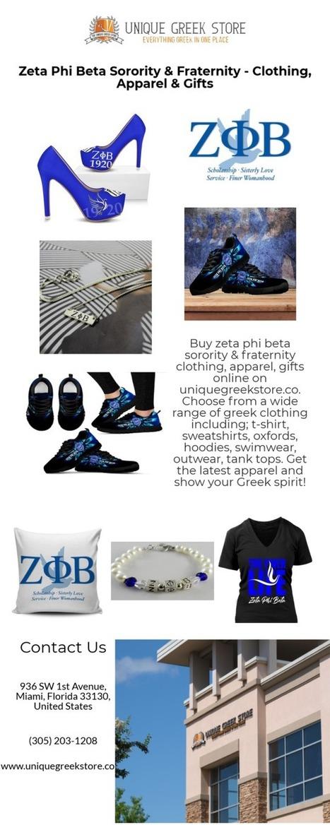 zeta phi beta sorority' in Greek Store | Scoop it