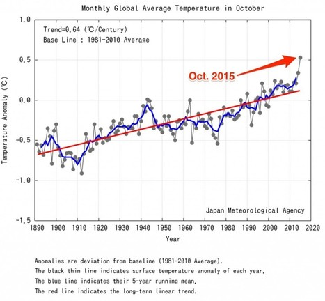 Global temperatures skyrocketed in October | Epic pics | Scoop.it