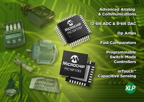 New 8bit PIC microcontrollers with some interesting peripherals | Maker Stuff | Scoop.it