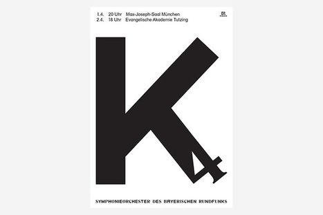 Bureau Mirko Borsche creates series of posters for the Bavarian Radio Symphony Orchestra | What's new in Visual Communication? | Scoop.it