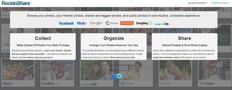 Collect, Organize And Share Photos With RockinShare | All about Web | Scoop.it