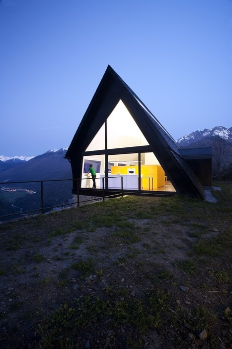 House at the Pyrenees: Vernacular Construction at a Contemporary Addition | sustainable architecture | Scoop.it