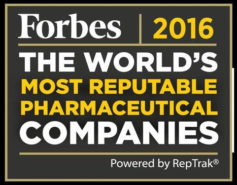 The World's Most Reputable Pharmaceutical Companies In 2016 | Pharma: Trends in e-detailing | Scoop.it
