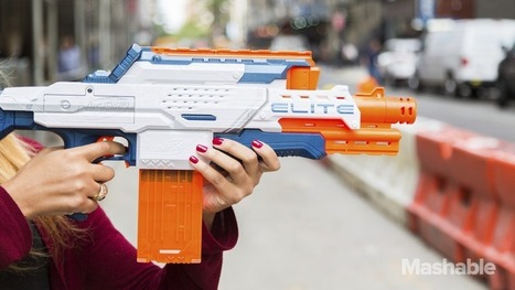 This Nerf Gun Has a Built-In Camera | Matmi Staff finds... | Scoop.it