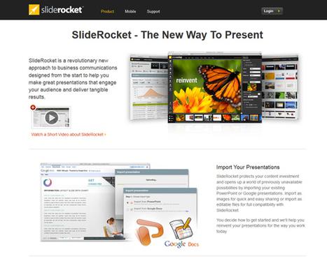 Le top 10 des alternatives à PowerPoint   WebdesignerTrends - Ressources utiles pour le webdesign, actus du web, sélection de sites et de tutoriels   Ofadis : Formez vous autrement   Scoop.it