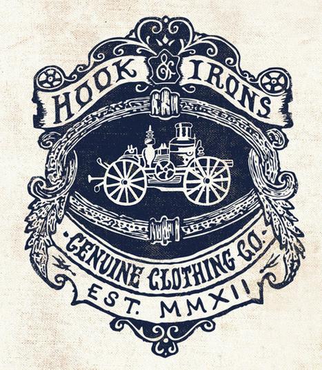 Showcase of Retro & Vintage Style Logo Designs | timms brand design | Scoop.it