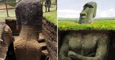 Les statues de l'île de Pâques ont un corps… Les photos de cette découverte sont incroyables ! | Histoire et Archéologie | Scoop.it