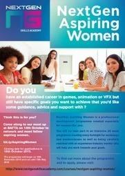 NextGen Aspiring Women - NextGen Skills Academy | Games and Games Localisation | Scoop.it