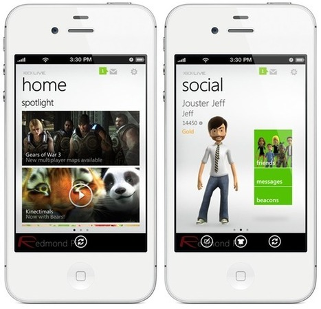 Bit Gadget: Official Xbox LIVE App For iPhone, iPad, iPod touch Available For Download Now! | Topics of my interest | Scoop.it