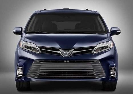 Toyota Sienna Hybrid >> 2018 Toyota Sienna Hybrid Release Date Toyota