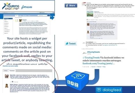 TOM, Travel On Move – Tourisme: Dialogfeed donne du sens au Social commerce   Le commerce à l'heure des médias sociaux   Scoop.it