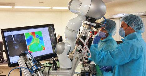 Première mondiale : ce robot autonome surpasse l'Homme lors d'une intervention chirurgicale | e-santé | Scoop.it