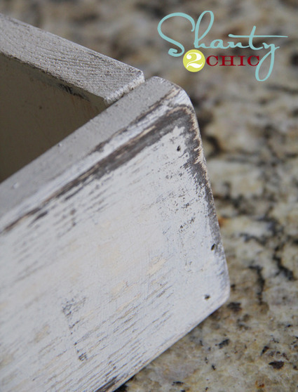 Distress Paint with Vaseline! | Creativity and imagination | Scoop.it