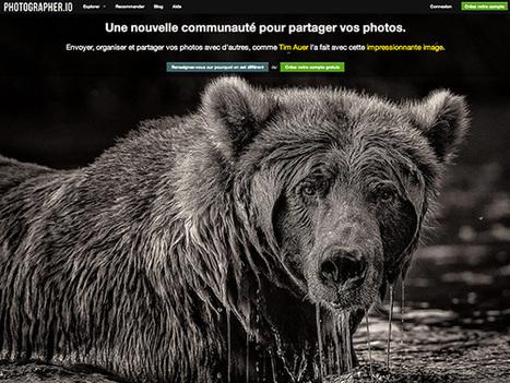 Photographer.io, un NOUVEAU site communautaire pour les photographes | Machines Pensantes | Scoop.it