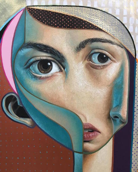 Cubism and Realism Collide in New Murals and Paintings by 'Belin'... | Art for art's sake... | Scoop.it
