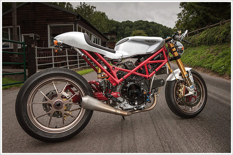 Ducati Monster SR2 800 Café Custom | Ductalk Ducati News | Scoop.it