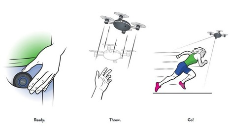 """This """"Throw and Shoot"""" Camera is Like a Flying GoPro That Follows You 