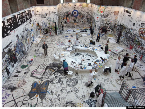New York City Museum Invites Visitors To Draw On Its Walls | The Creative Commons | Scoop.it