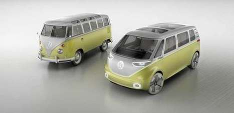Volkswagen resurrects the Kombi as an AWD, autonomous electric minibus | Real Estate Plus+ Daily News | Scoop.it