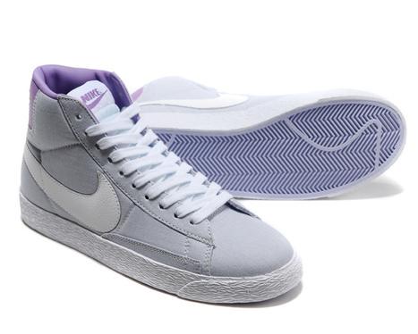 Collections Nike Blazer High Womens Cheap Grey