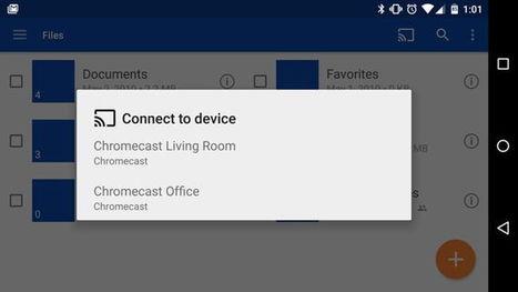OneDrive ya permite compartir imágenes y videos en Chromecast | Geeky Tech-Curating | Scoop.it