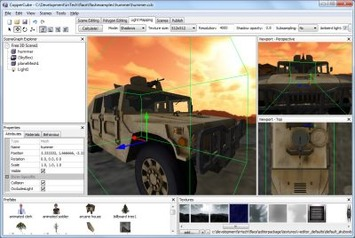 CopperCube - a 3D editor for Flash Stage3D and WebGL, Mac OS X and Windows   Machinimania   Scoop.it