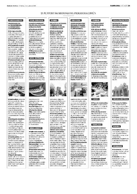 Atado [acuerdo de gobierno en el Ayuntamiento de Pamplona] | Ordenación del Territorio | Scoop.it