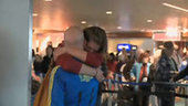 Emotional reunions for runners returning via PDX - kgw.com | Gov & Law Project | Scoop.it