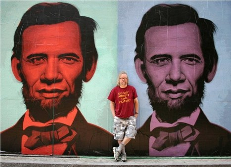 Quintessentially American Street Art: Interview with Ron English ... | Street art news | Scoop.it