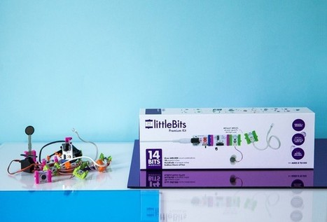 Maker your own electronic creations with littleBits | MakerED | MakerSpace | :: The 4th Era :: | Scoop.it