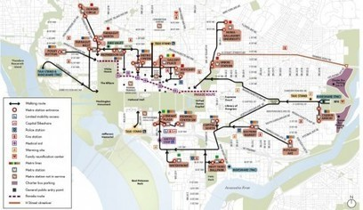Walking guide for Inauguration Day | digital divide information | Scoop.it