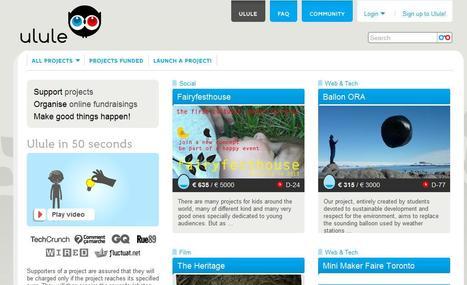Ulule - Make good things happen | Social media kitbag | Scoop.it