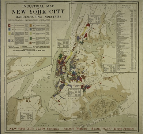 Industrial Map of NYC | UNIT VI | Scoop.it