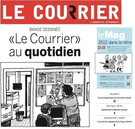 Reportage BD : la fabrication d'un journal | TICE & FLE | Scoop.it