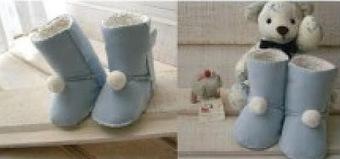 DIY : des bottes fourrées style Ugg | Enfant bébé maman | Scoop.it
