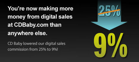Now You Make More Money When You Sell MP3s on CDBaby.com - DIY Musician Blog   Kill The Record Industry   Scoop.it