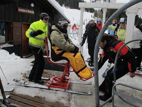 Annemasse | Profiter des sensations de la glisse en tandem-ski | montagne | Scoop.it