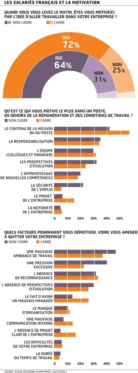 Ce qui motive les salariés françaisaujourd'hui | Les Verseurs d'Eau | Scoop.it
