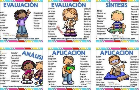 Tabla de verbos taxonomia de bloom -Orientacion Andujar | RECURSOS AULA | Scoop.it