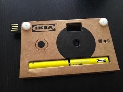 IKEA Makes Digital Cameras Out Of Cardboard - DesignTAXI.com | Visual Culture and Communication | Scoop.it