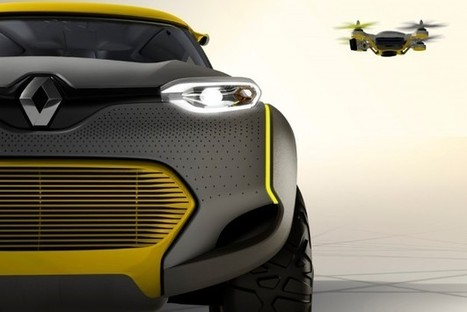 Renault Concept Car Comes With A Flying Drone | World News | Scoop.it