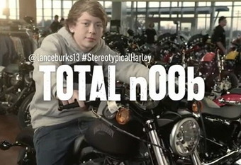 Harley-Davidson shatters stereotypes on Twitter | Articles | Data Nerd's Corner | Scoop.it