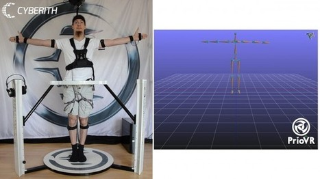 Cyberith Combines Virtualizer VR Treadmill with PrioVR Motion Input Suit, Kickstarter Nearly Funded   Virtual Insanity   Scoop.it