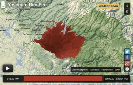 Yosemite Rim Fire | Picturing It | Scoop.it