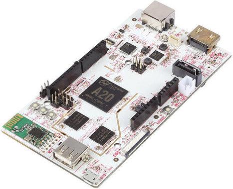 pcDuino3 Development Board Features AllWinner A20 SoC, Arduino Headers | Embedded Electronic | Scoop.it