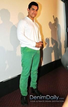 Aamir Khan In Corduroy Jeans | Denim Daily | Denim Daily | Scoop.it