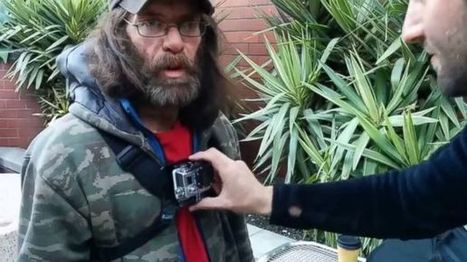 Homeless Man Straps on Camera to Document Life on the Streets - ABC News (blog) | Working and serving the new homeless | Scoop.it